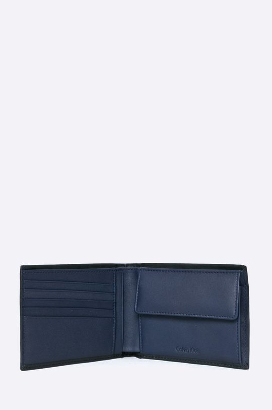 Calvin Klein Jeans - Portofel de piele + breloc De bărbați