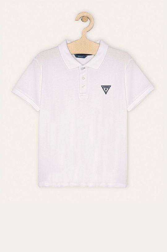bílá Guess Jeans - Dětské polo tričko 118-176 cm Chlapecký