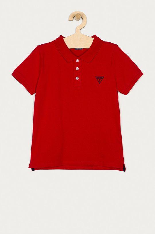 czerwony Guess - T-shirt/polo L71P21.K5DS0 Chłopięcy