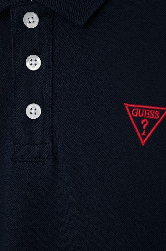 Guess Jeans - Detské polo tričko 118-176 cm tmavomodrá