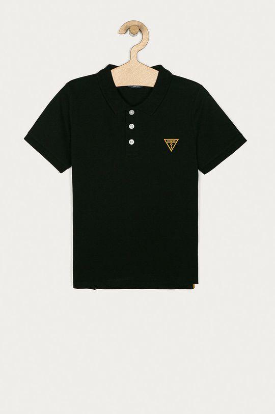 čierna Guess Jeans - Detské polo tričko 118-175 cm Chlapčenský