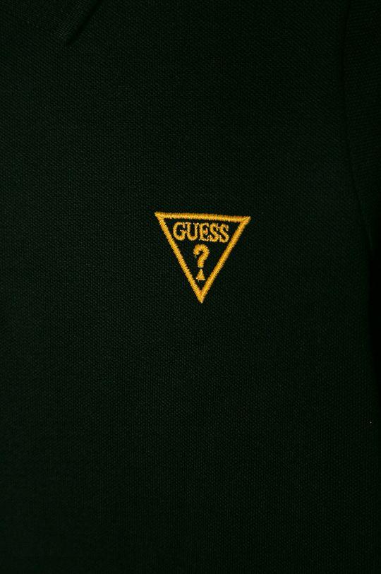 Guess Jeans - Detské polo tričko 118-175 cm čierna