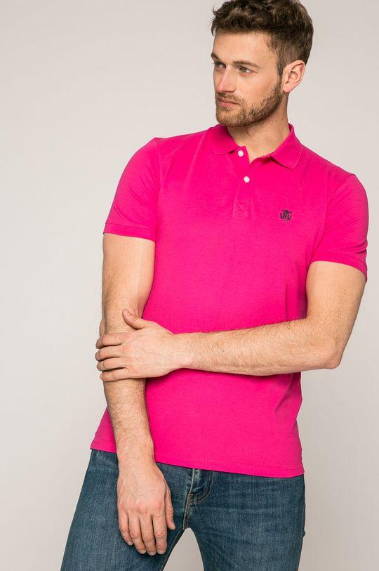 sýto ružová Selected - Pánske polo tričko Pánsky