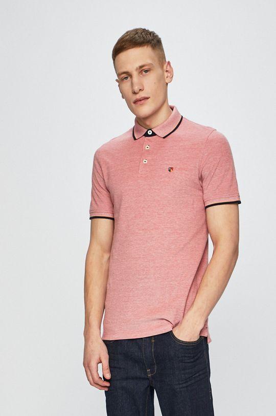 fialovo-růžová Premium by Jack&Jones - polo tričko