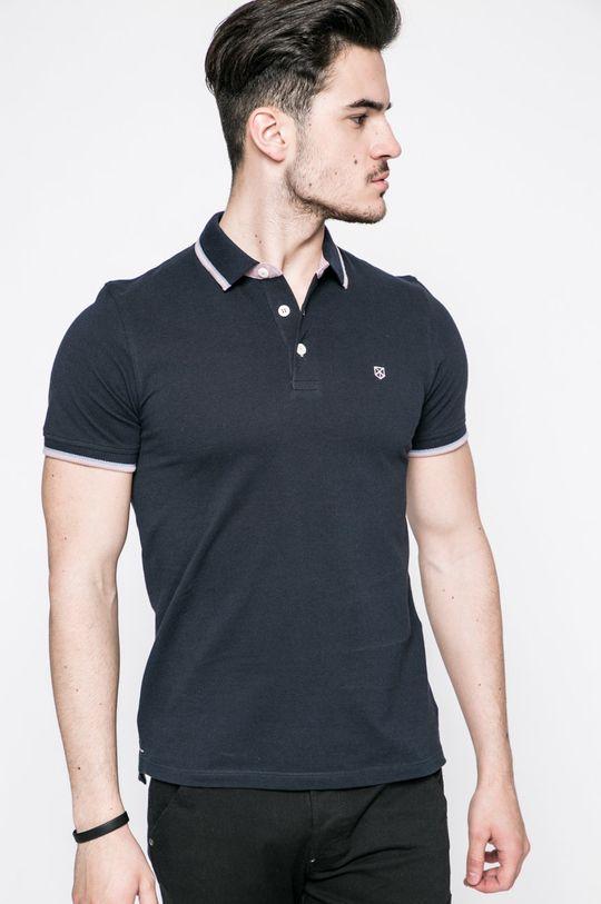 námořnická modř Premium by Jack&Jones - polo tričko Pánský