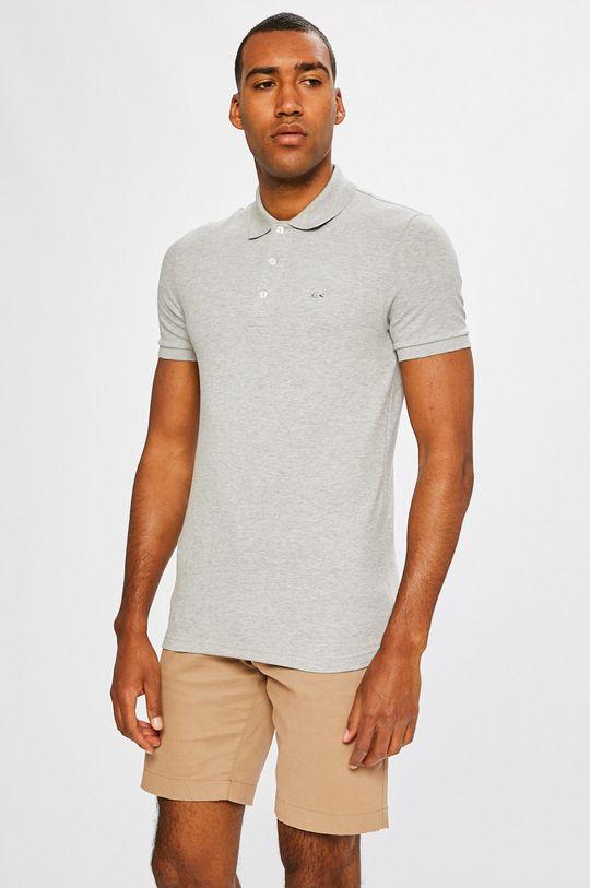 šedá Lacoste - Polo tričko Pánský