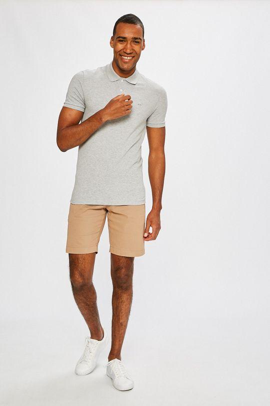 Lacoste - Polo tričko šedá