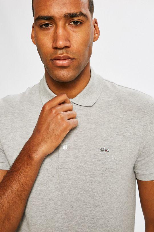 šedá Lacoste - Polo tričko