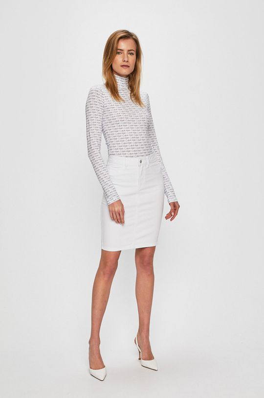 Vero Moda - Spódnica biały