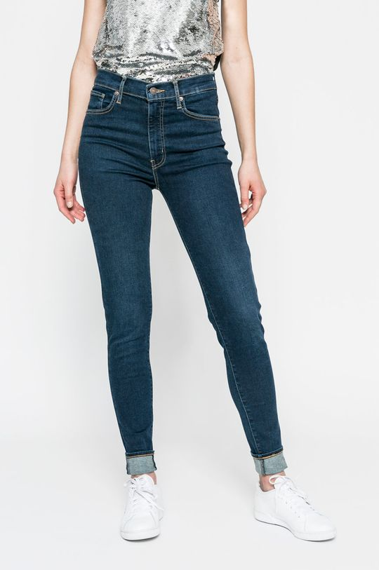bleumarin Levi's - Jeansi Mile High Super Skinny De femei
