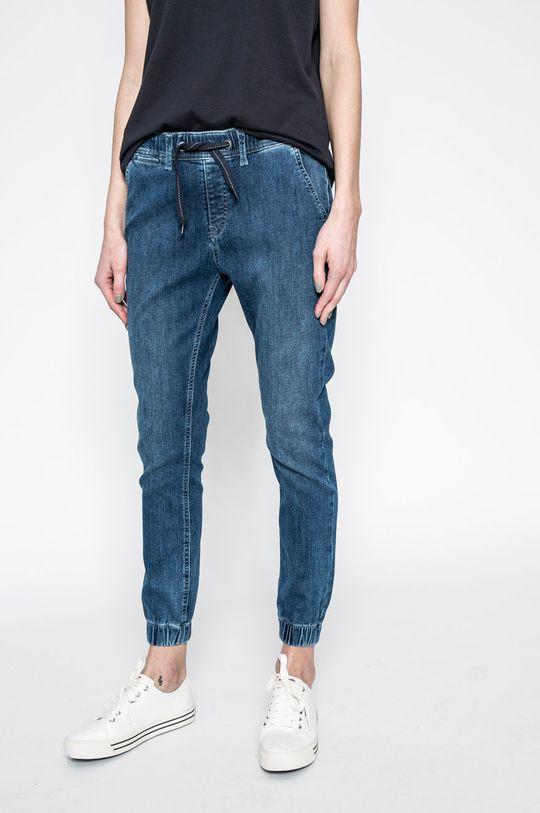albastru Pepe Jeans - Pantaloni Cosie De femei
