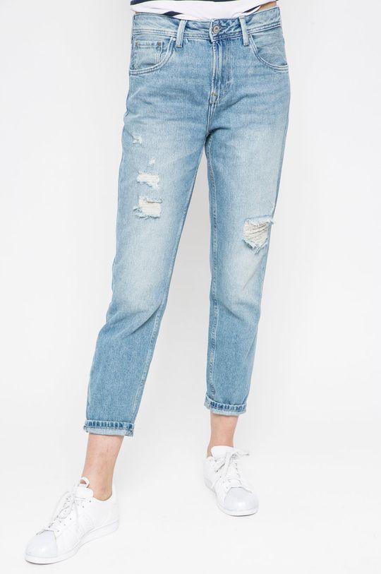 niebieski Pepe Jeans - Jeansy Violet Damski