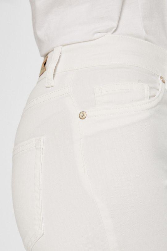 biały Only - Jeansy Blush