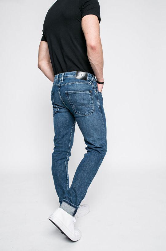 Pepe Jeans - Džíny Aplikace: 90% Bavlna, 2% Elastan, 8% Polyester
