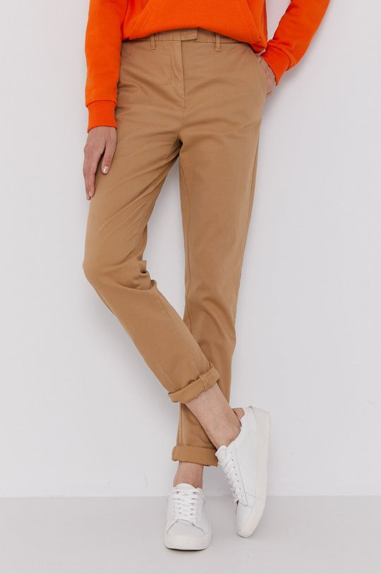 bej Tommy Hilfiger - Pantaloni Marin De femei