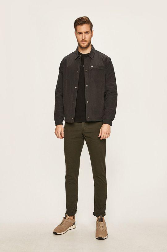 Produkt by Jack & Jones - Kalhoty 12130729 tmavě zelená