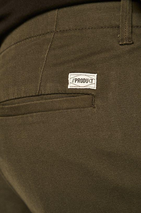 tmavě zelená Produkt by Jack & Jones - Kalhoty 12130729