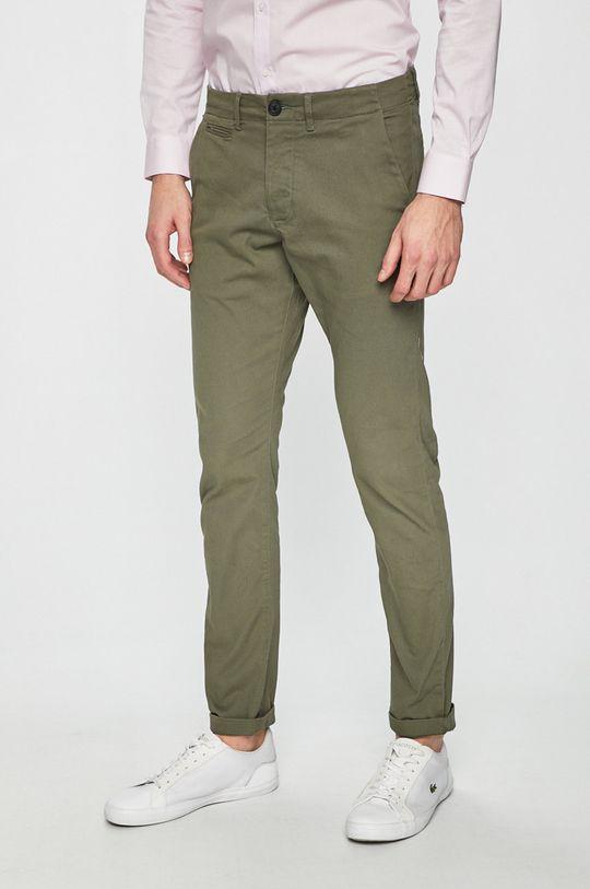 olivová Produkt by Jack & Jones - Kalhoty 12130729 Pánský