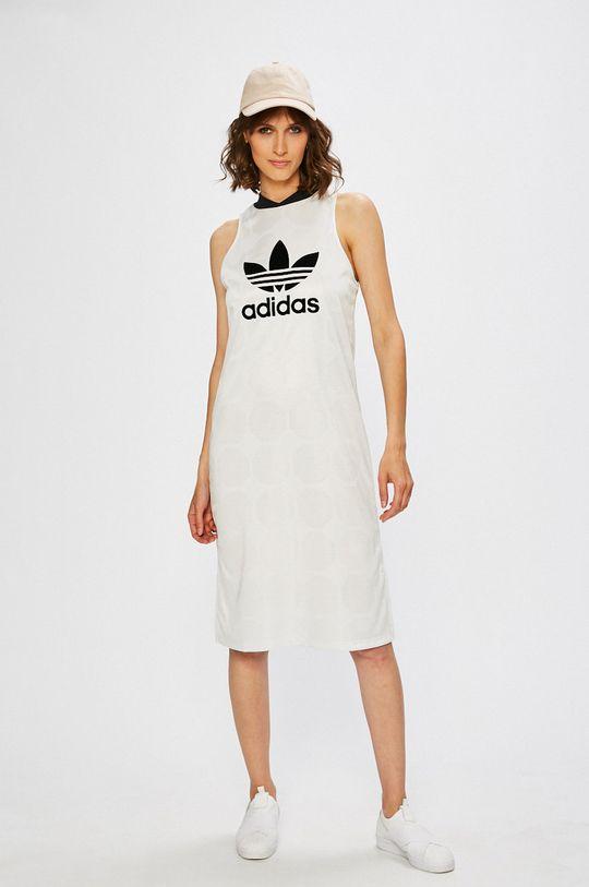 adidas Originals - Рокля бял