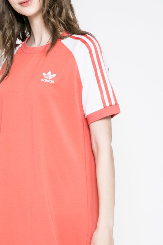 коралов adidas Originals - Рокля