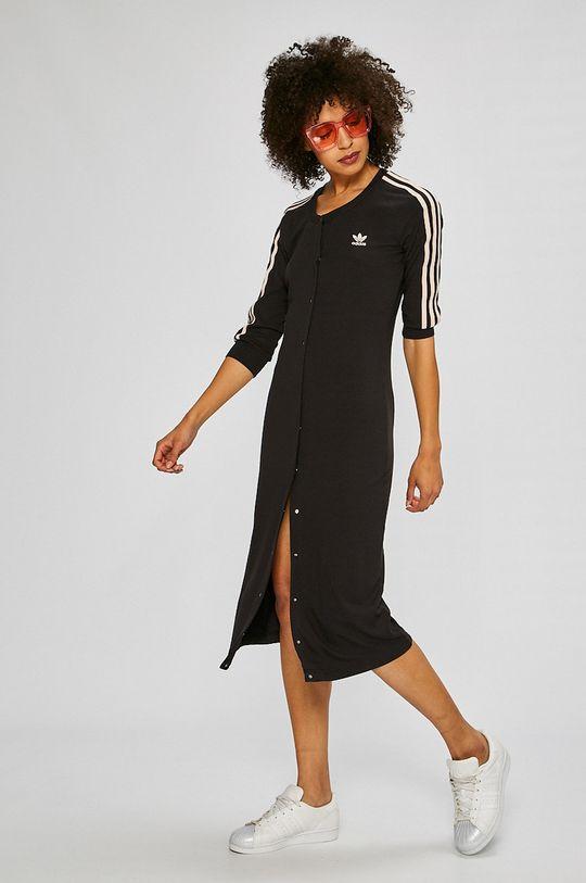 adidas Originals - Рокля черен