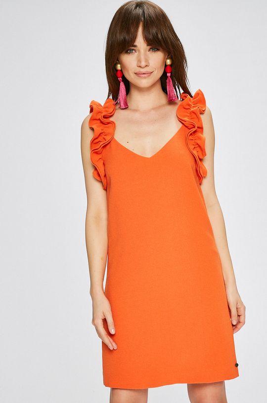 portocaliu Pepe Jeans - Rochie Marilo De femei