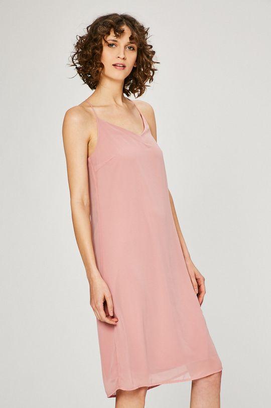 Vero Moda - Šaty pastelově růžová