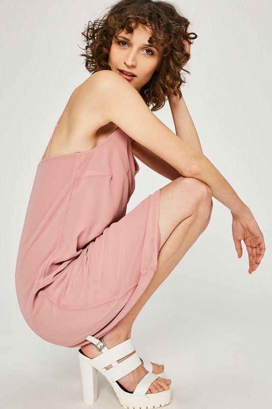 pastelově růžová Vero Moda - Šaty