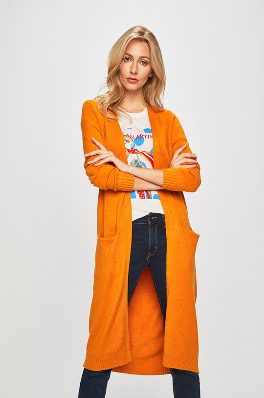 pomarańczowy Vila - Kardigan Damski