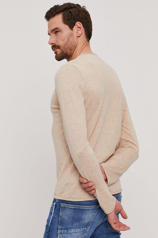 Selected - Sweter 90 % Bawełna, 10 % Jedwab