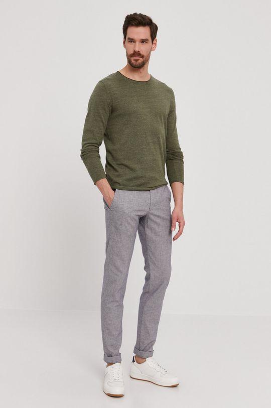 Selected - Sweter brudny zielony