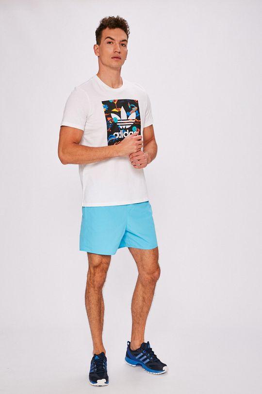 adidas Performance - Pánske šortky modrá