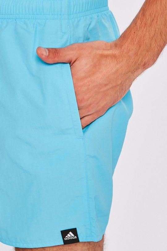modrá adidas Performance - Pánske šortky