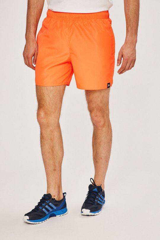 narancssárga adidas Performance - Rövidnadrág Férfi