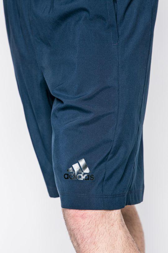 tmavomodrá adidas Performance - Pánske šortky