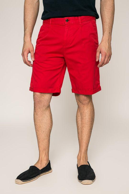 ostrá červená Calvin Klein Jeans - Kraťasy Pánský