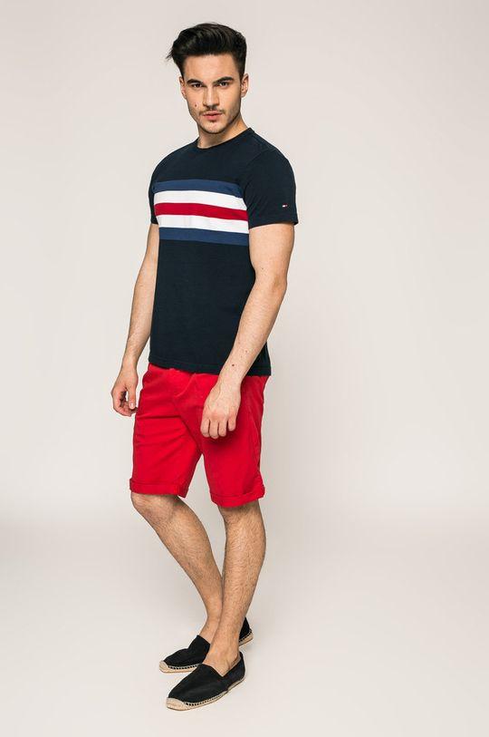 Calvin Klein Jeans - Kraťasy ostrá červená