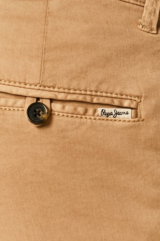 beżowy Pepe Jeans - Szorty Mc Queen