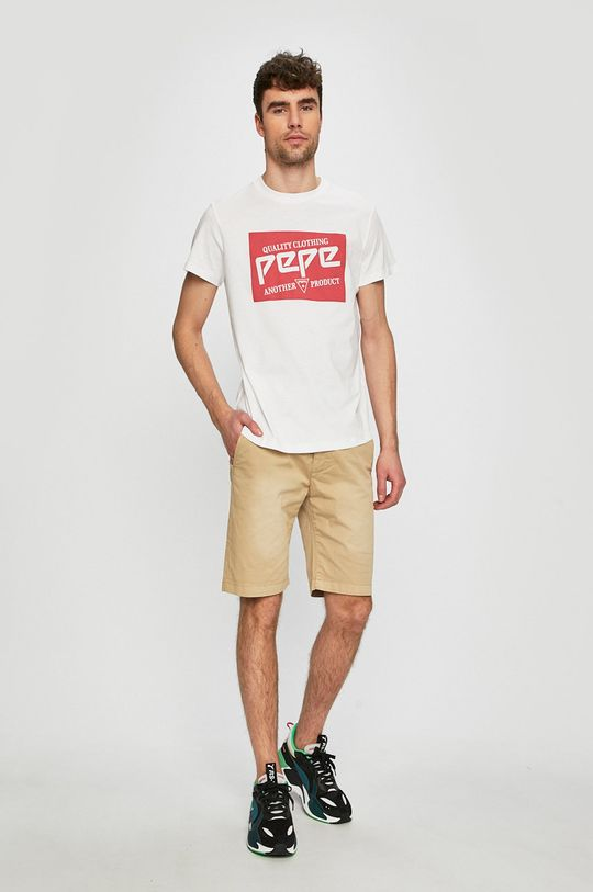 Pepe Jeans - Szorty Mc Quenn beżowy