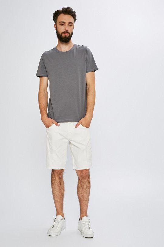 Armani Exchange - Pánske šortky biela
