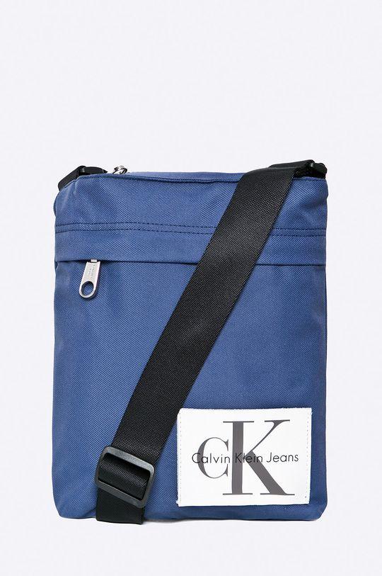 albastru metalizat Calvin Klein Jeans - Borseta De bărbați