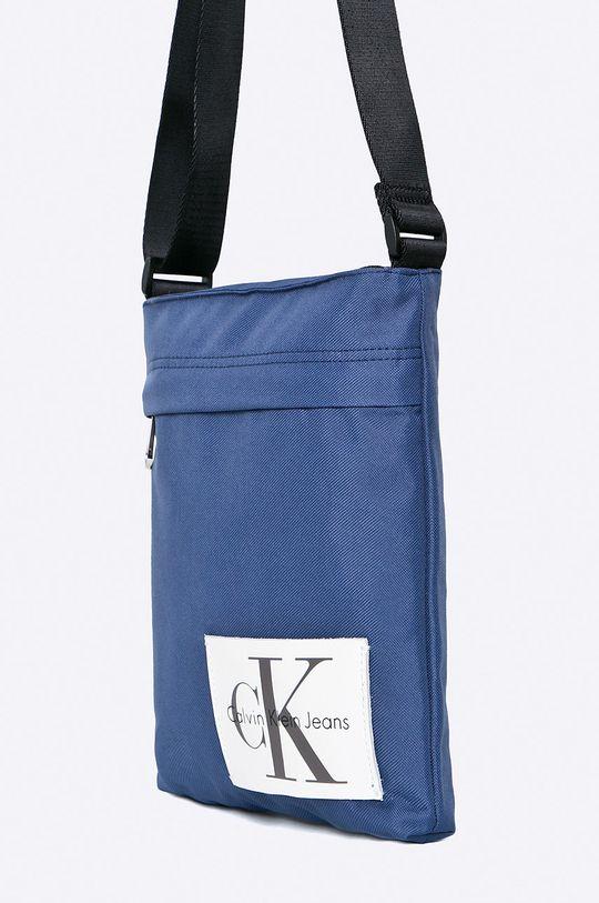 Calvin Klein Jeans - Borseta albastru metalizat