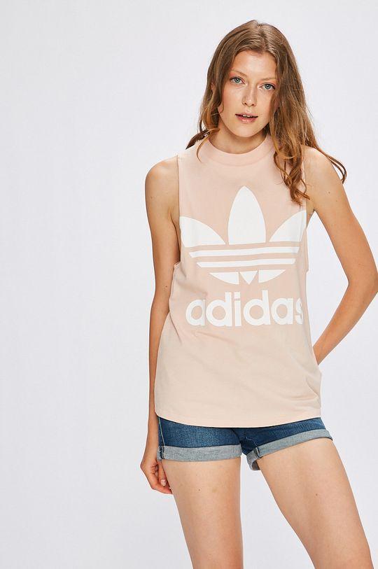 пастелнорозов adidas Originals - Топ Жіночий