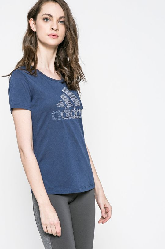sötétkék adidas Performance - Top Női