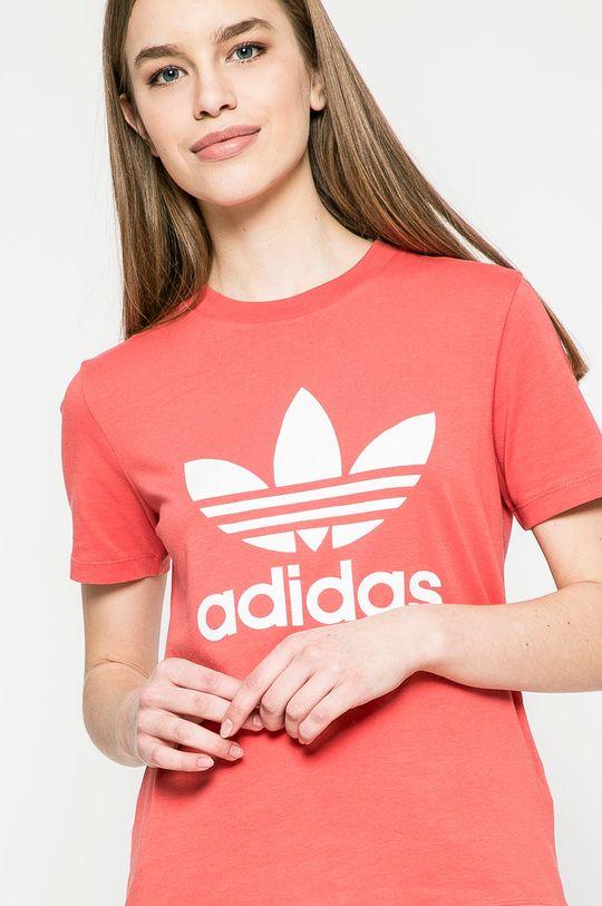 наситеночервен adidas Originals - Топ