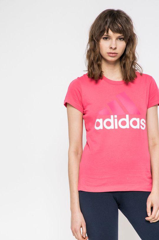 розов adidas Performance - Топ Жіночий
