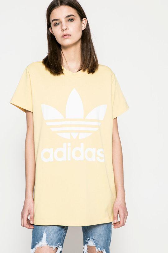 жълт adidas Originals - Топ Жіночий