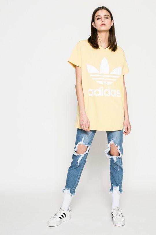 adidas Originals - Топ жълт