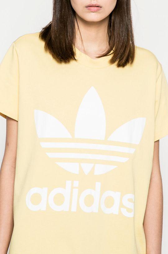 жълт adidas Originals - Топ