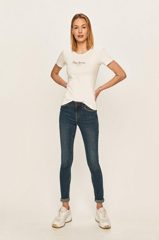Pepe Jeans - Top New Virginia bílá